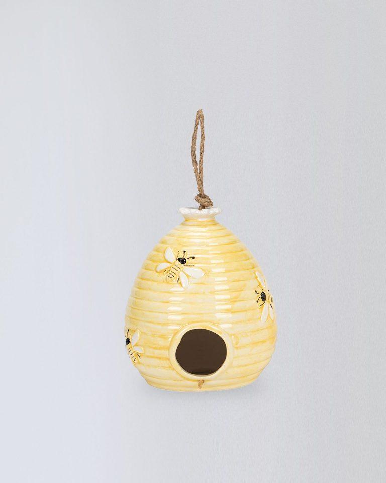 DOL BEEHIVE BIRD HOUSE S ASST_yellow_480408